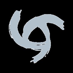 Swirl on transparent background.